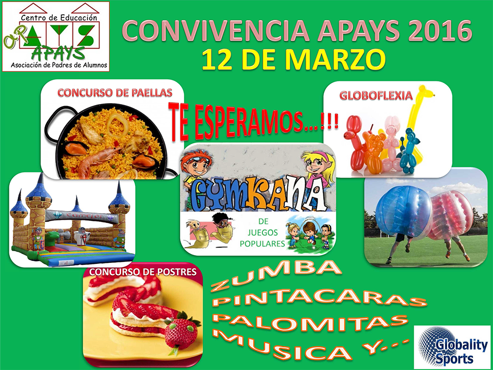 CONVIVENCIA APAYS 2016